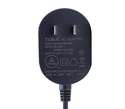 7.5W wall mount Power adapter for US